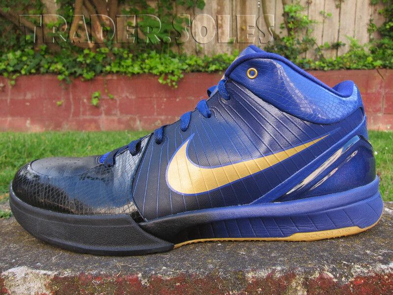 Nike Zoom Kobe IV Negro Morado fade aire final reducción recortes de precio estacional de recortes reducción de precios, beneficios de descuentos a3bb03
