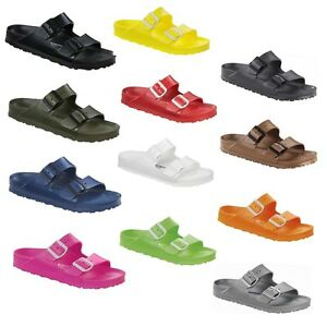 3f134f9dc8fb Image is loading Birkenstock-Arizona-Rubber-EVA-Waterproof-Slide-Sandals- Shoes-