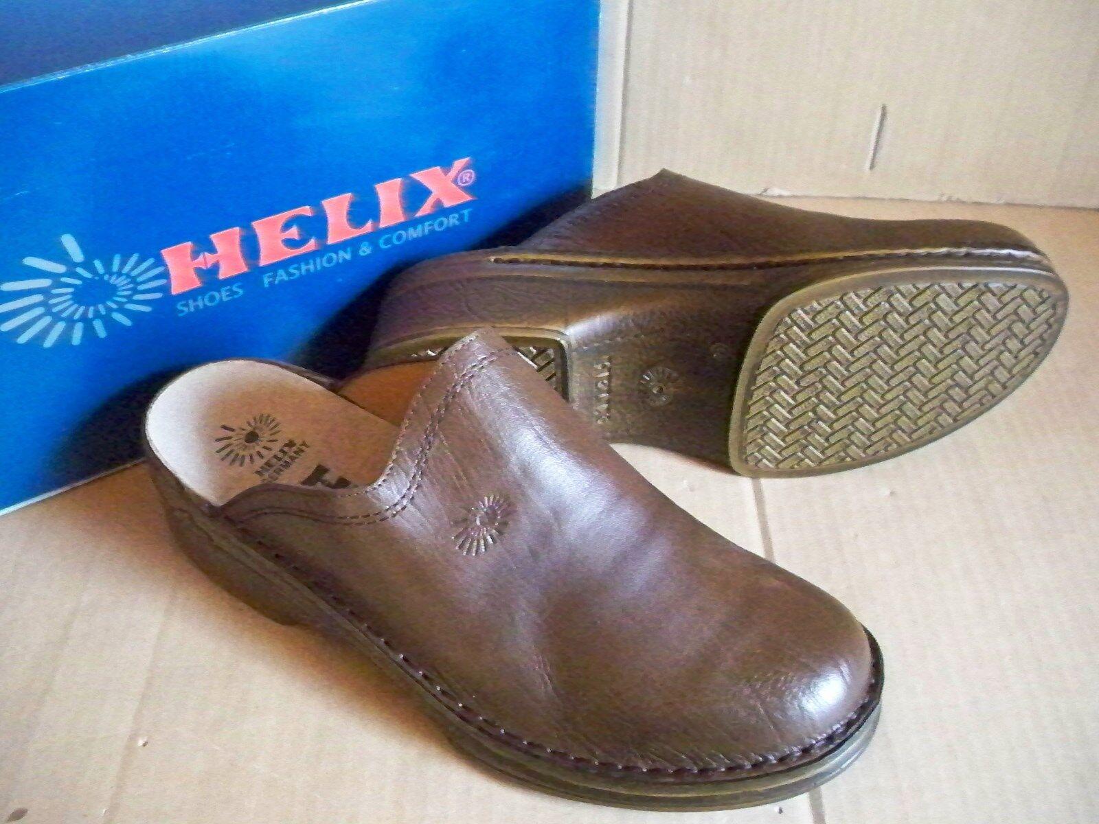HELIX Pantoletten Clogs Espresso Gr Germany 48 Herren Made in Germany Gr 35ba1b