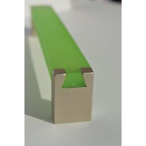 5x Kunststoff Möbelgriff 128mm Schubladengriff Bügelgriff Türgriff Hewi grün