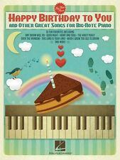 Happy Birthday to You and Other Great Songs for Big-Note Piano Book 000119636