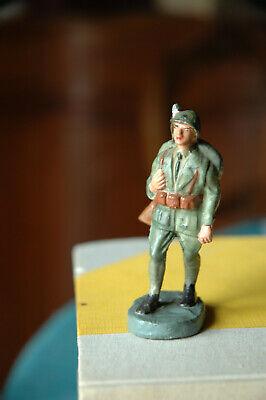 Bello Salpa Lucca 1940 Fante Regio Esercito Marciante Con Zaino Conservazione Top