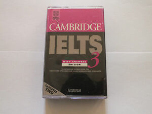 Details about Cambridge IELTS - With Answers Edition 3 Cassette 2 £15 99  New Free P & P