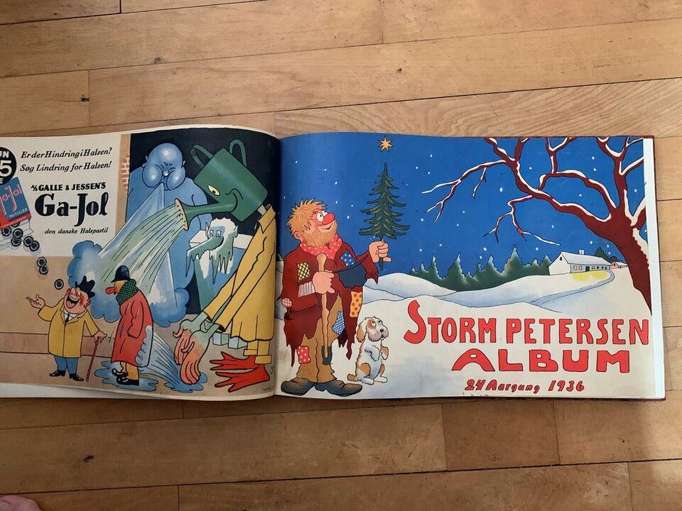 Tegneserier, 5 stk Storm P album.