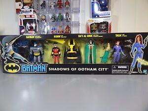 Batman Animation Série 4 Pack Ombres De Gotham City 76930706435