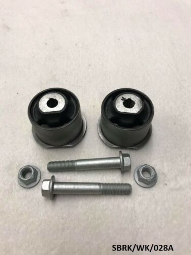 2x Front Differential Bush /& Bolts Jeep Grand Cherokee WK 2005-2010 SBRK//WK//028A