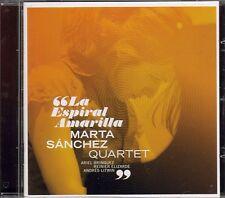 """CD NEUF """"LA ESPIRAL AMARILLA"""" Marta Sanchez Quartet / 7 morceaux"""
