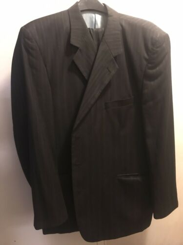 Mens Pinstripe Suit by Midtown Man