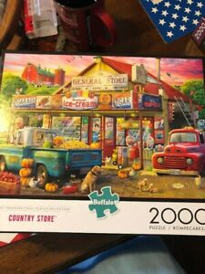 BUFFALO 2000 PC PUZZLE COUNTRY STORE NEW AGE 14 +