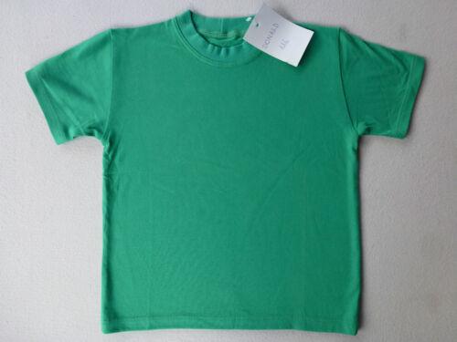XXL NEU Kinder Damen Herren T-Shirt Unterhemd 100/% Baumwolle T-Shirts 104