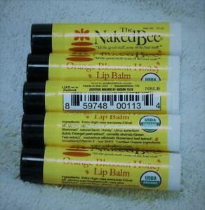Final, sorry, naked bee lip balm yes