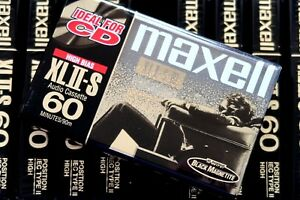 MAXELL-XLII-S-60-PREMIUM-HIGH-BIAS-TYPE-II-BLANK-AUDIO-CASSETTE-PORTASTUDIO