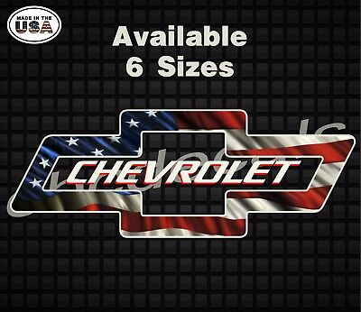 Chevy American Flag chevy American Flag USA Dieasl Decal ...