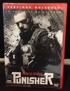 Punisher-zona-Di-Guerra-DVD-RENT-Nuovo-Sigillato-The-Punisher-2-Marvel-Knights