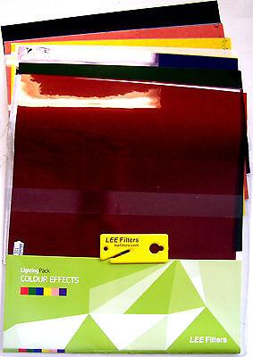Farbfolie Farbfilterbogen Lee Filters Color Effects Lichtfilter Blitzlichtfilter