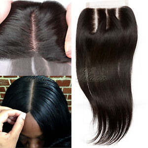 7A-Pre-Plucked-Free-Part-Lace-Closure-100-Real-Brazilian-Virgin-Human-Hair-N838