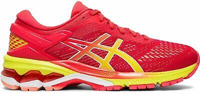 Asics Damen Laufschuhe Runningschuhe Top Dämpfung Stabilität Gel-kayano™ 26 Rot Geeignet FüR MäNner Und Frauen Aller Altersgruppen In Allen Jahreszeiten