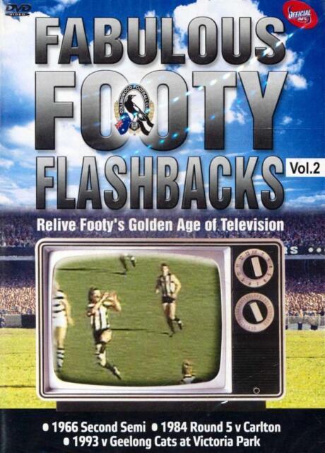 Fabulous Footy Flashbacks: Collingwood : Vol 2 (DVD, 2009)