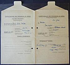 POW Camp 153 Hyères France 1948 German Prisoner War Kriegsgefangenenpost 68