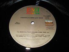 "Foster Sylvers & Hy Tech - You Make All My Dreams Come True 12"" Single Funk"