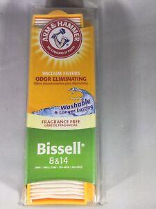 Arm-amp-Hammer-Bissell-8-amp-14-Odor-Eliminating-Vacuum-Filter-Set-Fragrance-Free