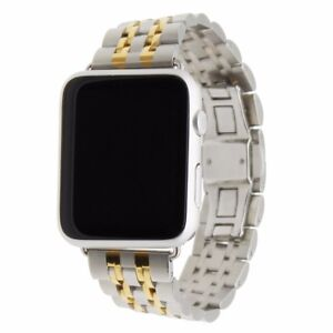 For-Apple-Watch-Seven-Bead-Stainless-Steel-Watch-Strap-38mm-42mm-Wrist-Watch-GB