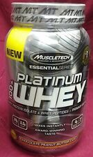 MuscleTech - 100% Platinum WHEY - 2 Lbs - CHOCOLATE PEANUT BUTTER CUP - 11/2017