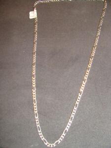 Das Bild wird geladen Figaro-925-Silber-Unisex-Kette-50-cms d38666d939