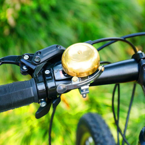 Bicycle Bell Ring Handlebar Vintage Retro Upgrades Cycling Copper Alloy LH