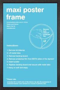 Wooden-Maxi-Poster-Frame-61x91-5cm-24x36-034-Black