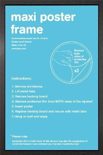 Wooden Maxi Poster Frame - 61x91.5cm/24x36