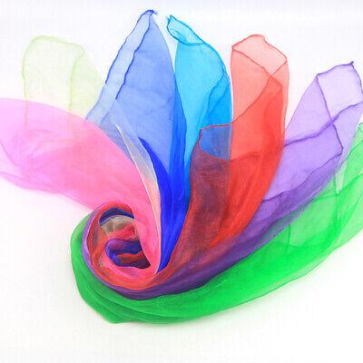 12PCS Dance Autism Sensory Toys Juggling Scarves Baby Kids Adults Party Gift UK