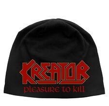KREATOR Beanie PLEASURE TO KILL Mütze ♫ hat ♫ Teutonic Thrash Metal ♫ Mille ♫