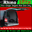 H1-LOW portón de maletero Renault tráfico Barras Portaequipajes Rhino x3 y Rodillo van 2001-2014