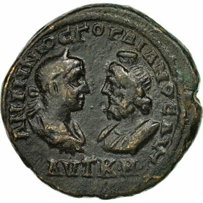 Coin Bronze 40-45 Gordian Iii Marcianopolis Making Things Convenient For The People Ef #509274 Initiative Moesia Inferior