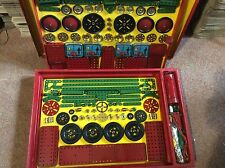 Meccano Construction Set 8 - November 1950 Unused Still Wired into Original Box