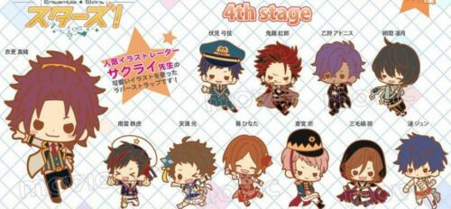 Ensemble Stars ES Rubber Strap Phone Charm Anime Keychain Keyring Cosplay Gift