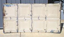 8 Antique Ceiling Tin Tiles Simple Elegant Frame Canvas Shabby Chic