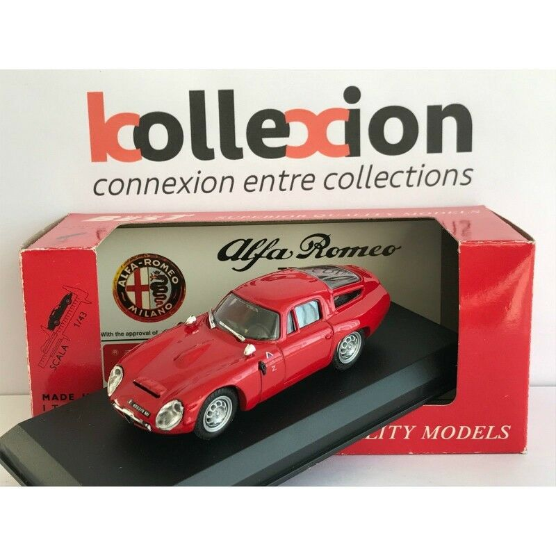 BEST MODEL 9059 ALFA ROMEO TZ1 Prova 1.43 NB