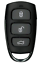 2-x-Suitable-for-FORD-RANGER-REMOTE-KEYLESS-FOB-2006-2007-2008-2009-2010-2011 thumbnail 2