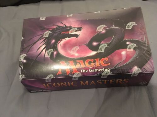 MTG BOITE SCELLEE 24 BOOSTERS ICONIC MASTERS FACTORY SEALED BOX ENGLISH
