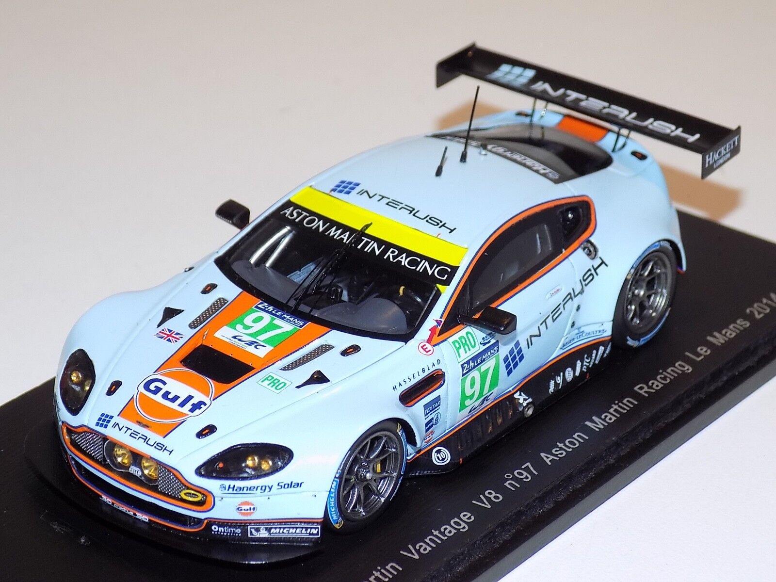 1 43 Spark Aston Martin Vantage V8 coche  97 2014 24 horas de LeMans S4231