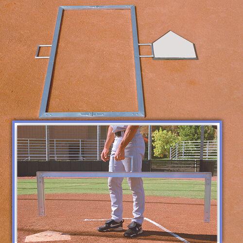 Foldable Batters Box Template- 4 x 6