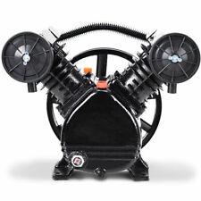 Ironmax 3hp 2 Piston V Style Twin Cylinder Air Compressor Pump Motor Head New