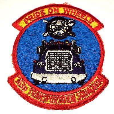 Pride on Wheels Patch USAF 363d Transportation Squadron