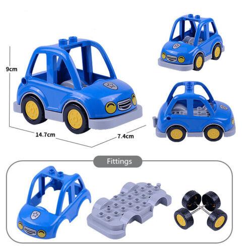 DIY Block Set Spielzeug Auto Bausteine Figur Bildung Spielzeug Für Kinder