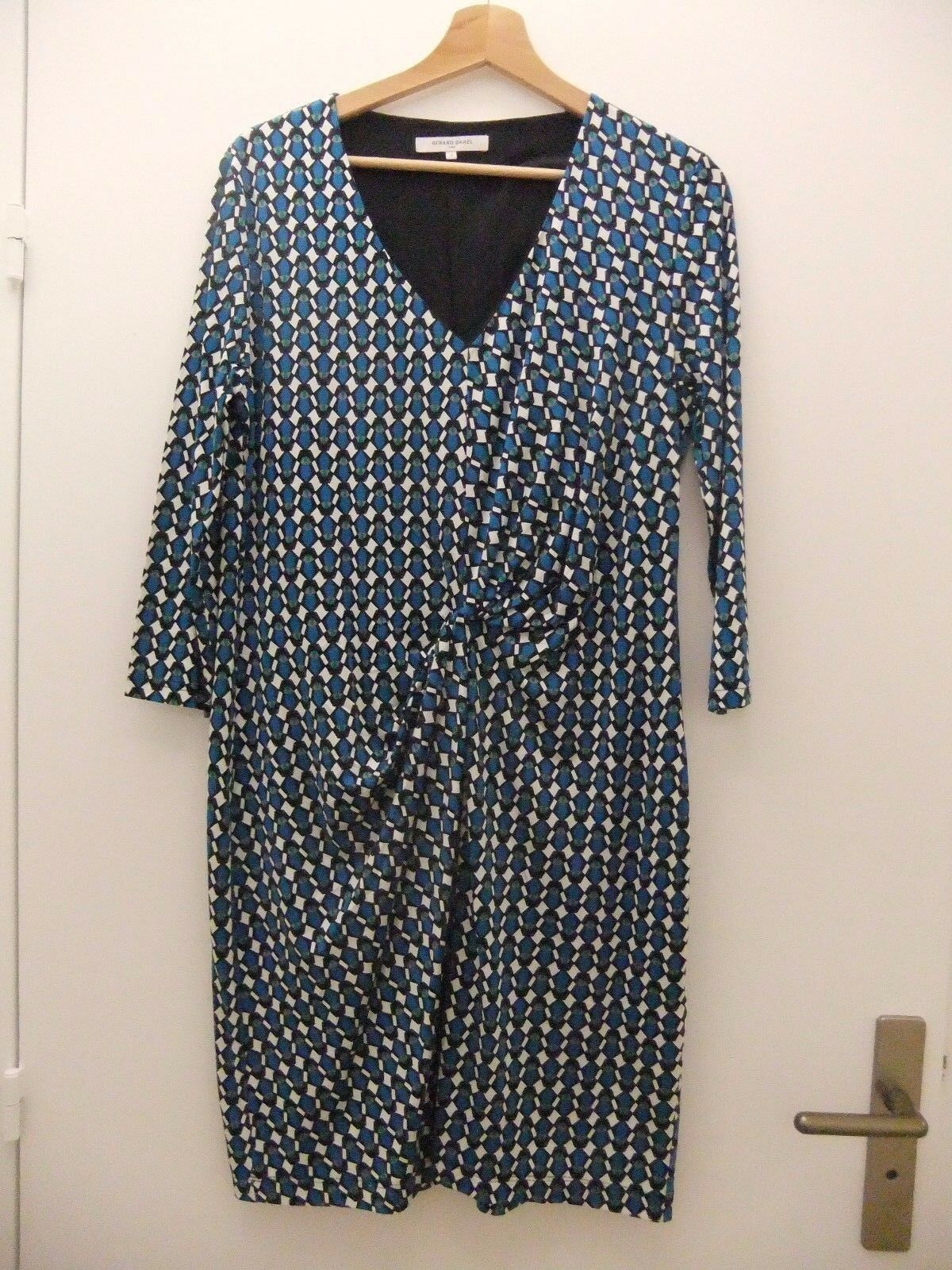 Gérard Darel magnifique magnifique magnifique robe soie Dimensione 3 (40-42)neuve 8dde2e