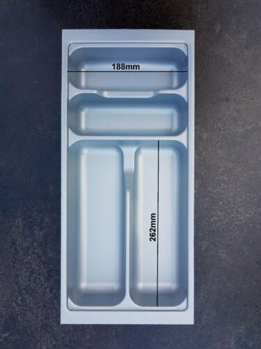 LA CUCINA Besteckeinsatz für 30cm Schubladen 209 x 462mm Nobilia Küche bis 2013