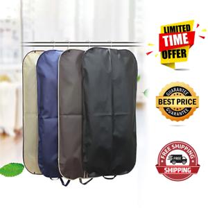Simplehousware 54-Inch Heavy Duty Garment Bag w//Pocket for Suits Coats Dresses Tuxedos