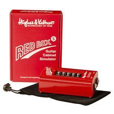 Hughes & Kettner Red Box 5, DI and Speaker Simulator +Picks